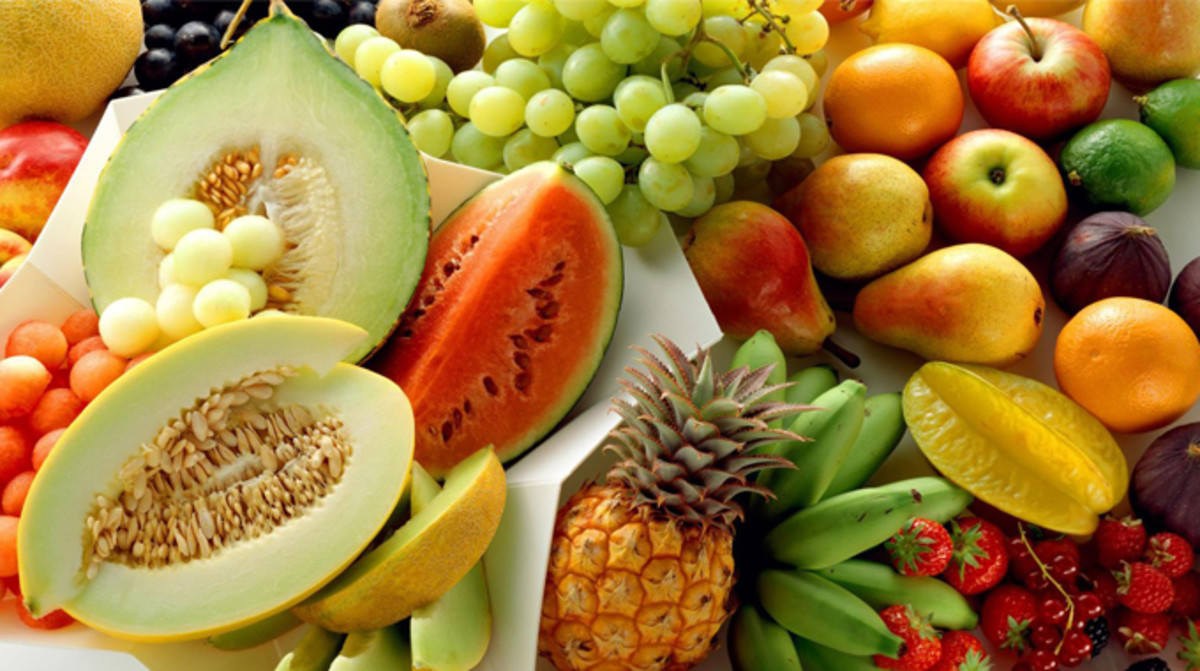 Fresh  fruits for  healthy living