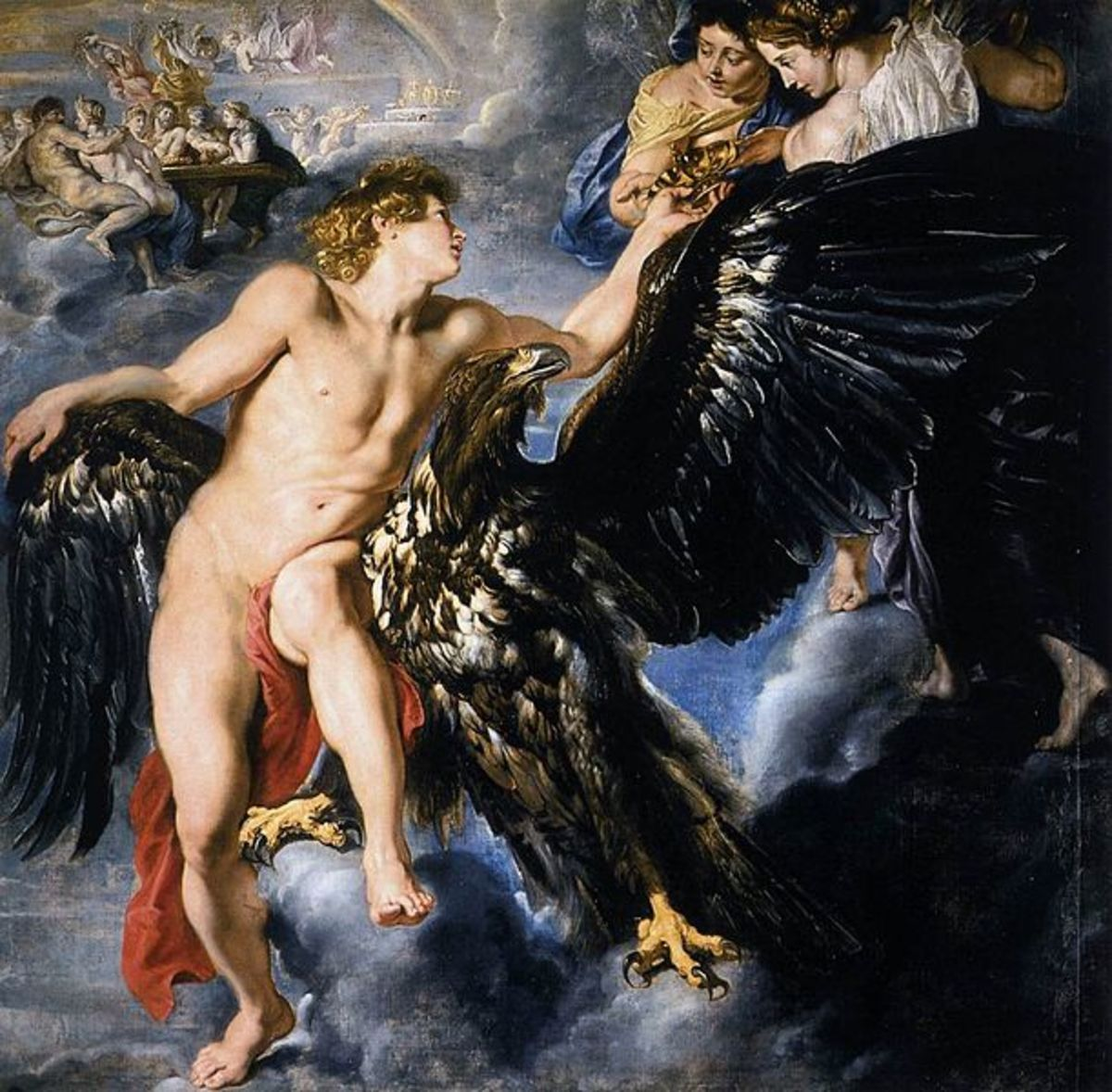 Ganymede - Peter Paul Rubens (1577–1640) - PD-art-100
