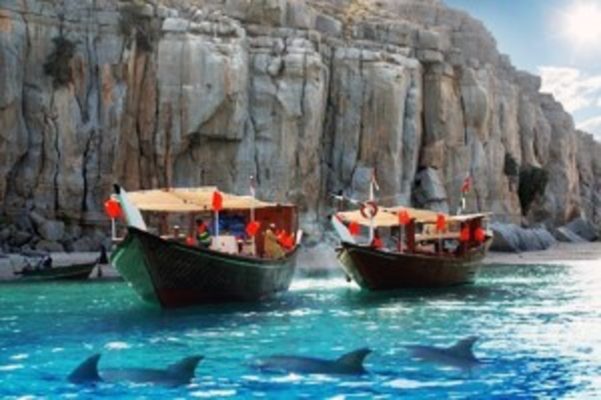 Fjords of the Musandam