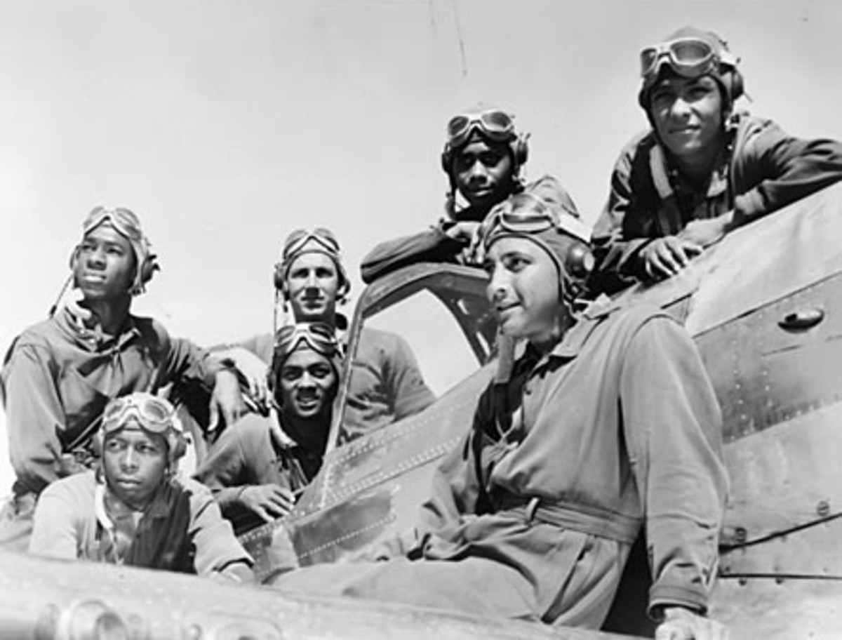 The Tuskegee Airmen were a major factor that contributed to  the US victory in WWII.