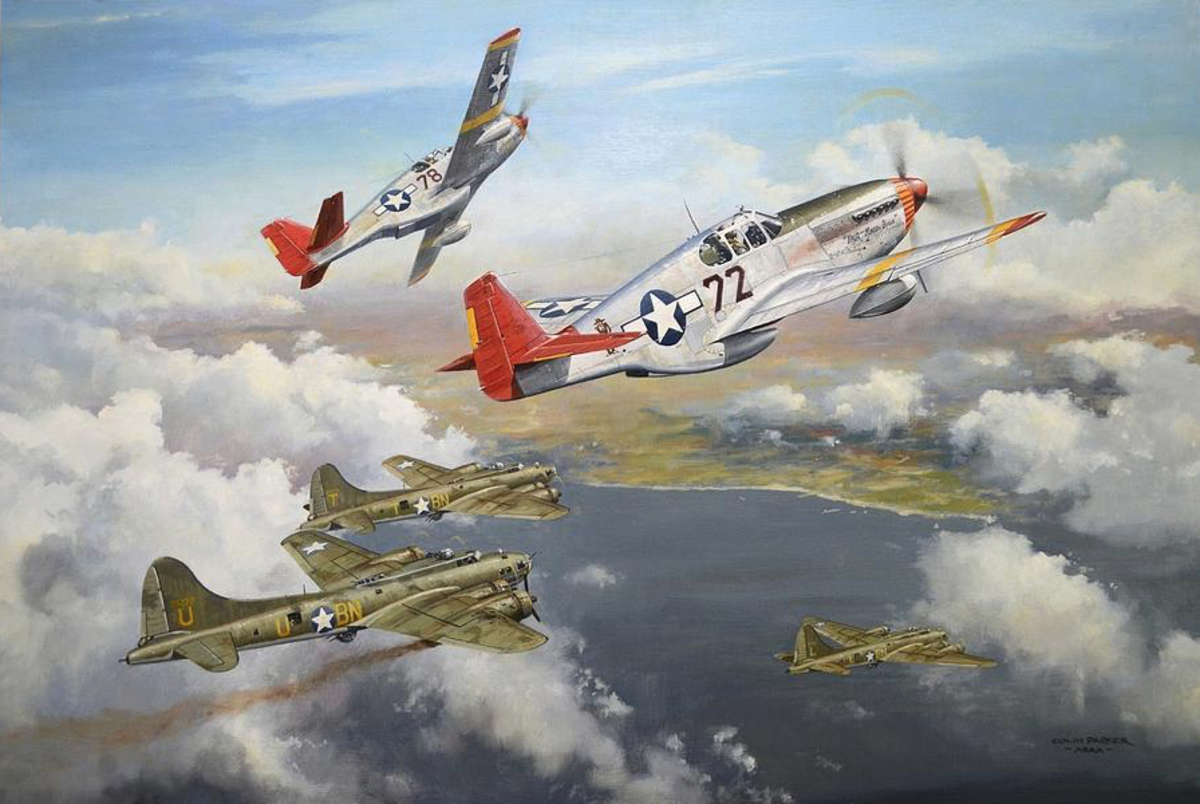 Never losing a single bomber under their protection, the Tuskegee Airmen, undisputedly, hold the best record of air support and air battles in US military history.