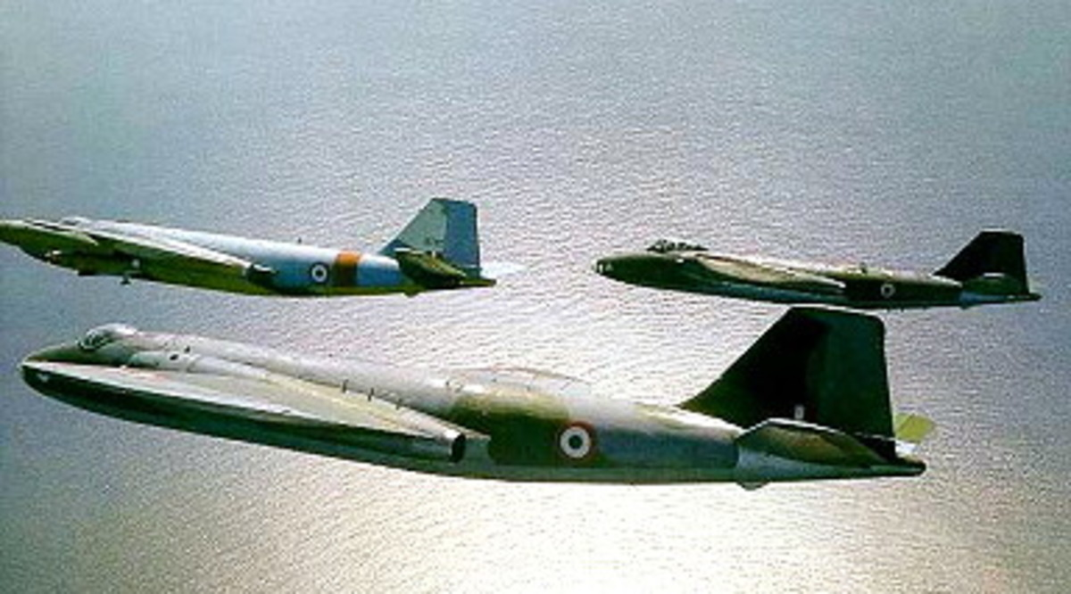 Canberra's of the IAF