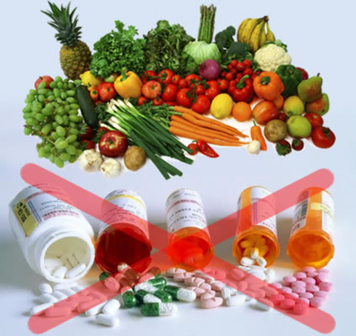 Do the Natural way - Fresh fruits and veggies EVERYDAY!