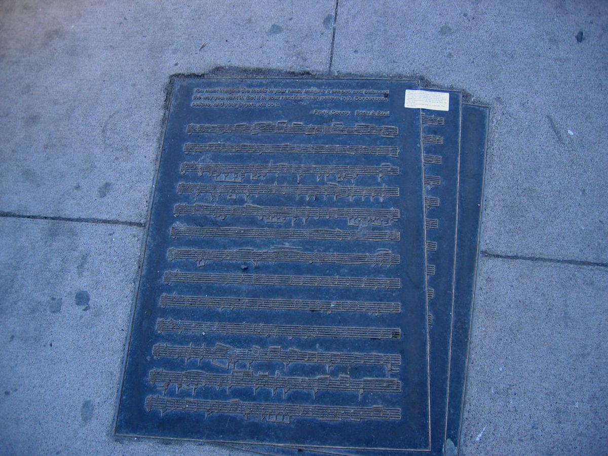 Iowa Avenue Literary Walk - Conroy