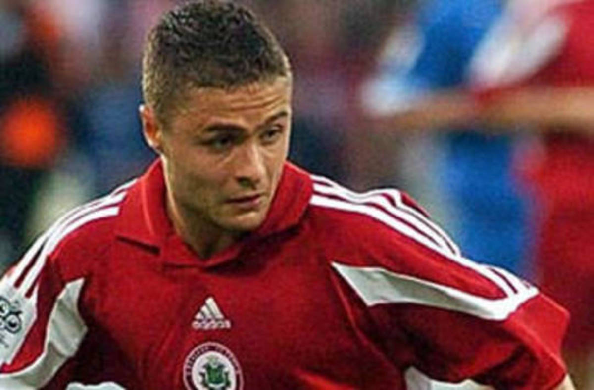 Maris Verpakovskis was the key player in Latvia's aggregate victory over Turkey in 2003. Verpakovskis went to become Latvia's all-time leading goalscorer.