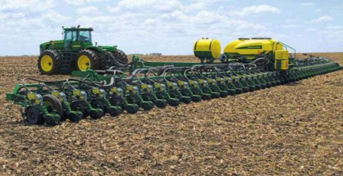 Mega Seed Sower- AGRICULTURE ON THE MOVE?