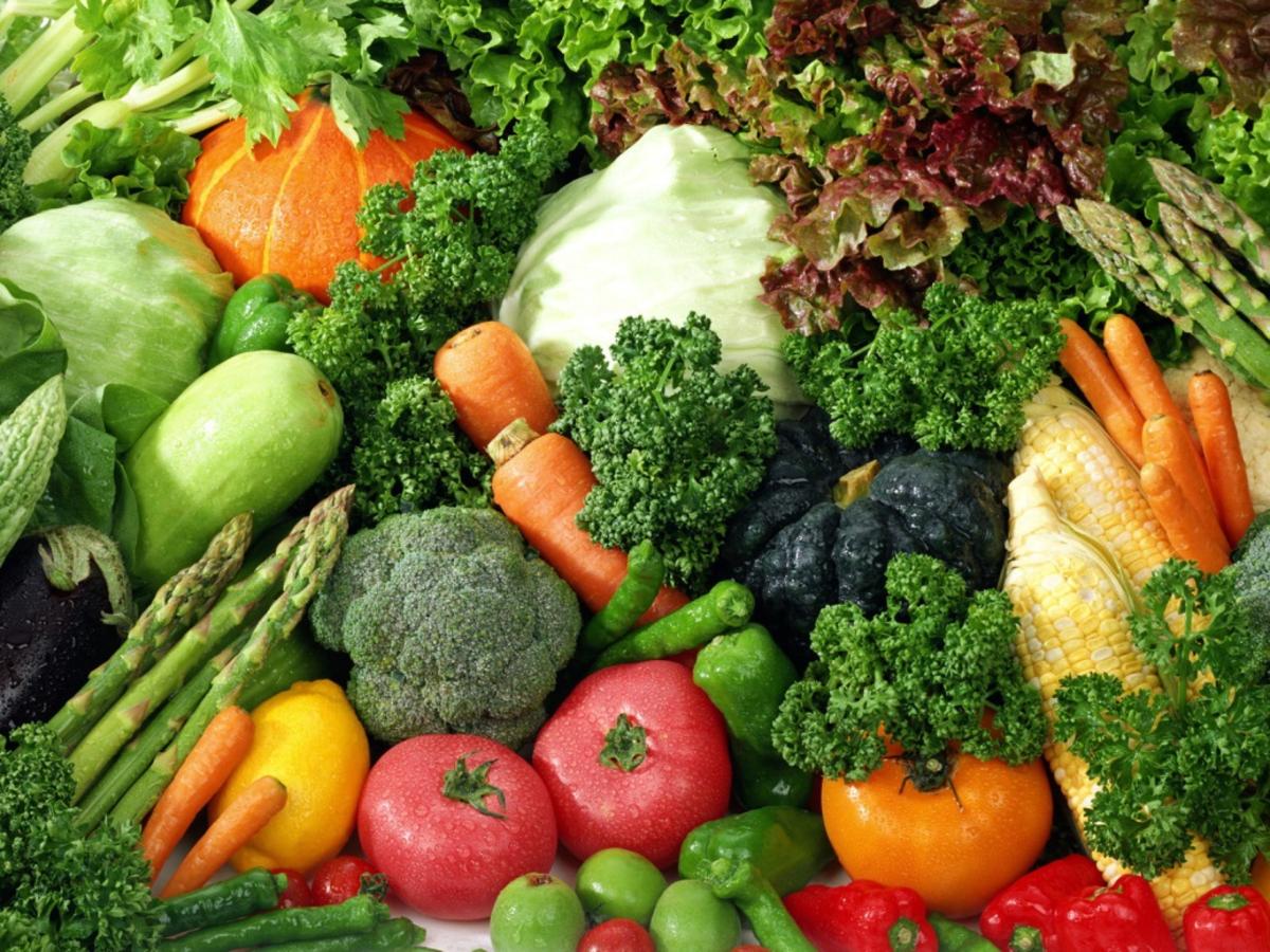 Fresh Veggies for a healthy lifestyle