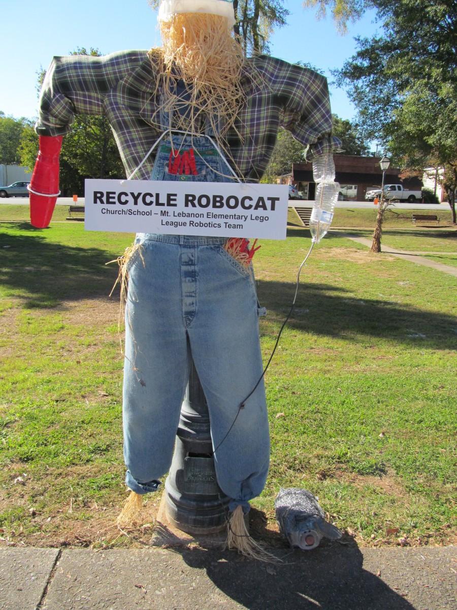 Recycle Robocat
