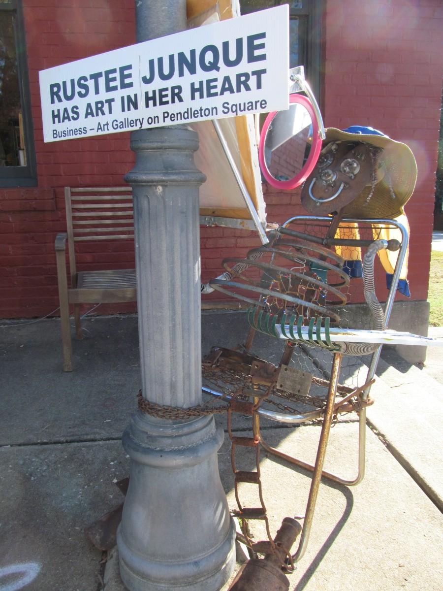 Rustee Junque Has Art in Her Heart