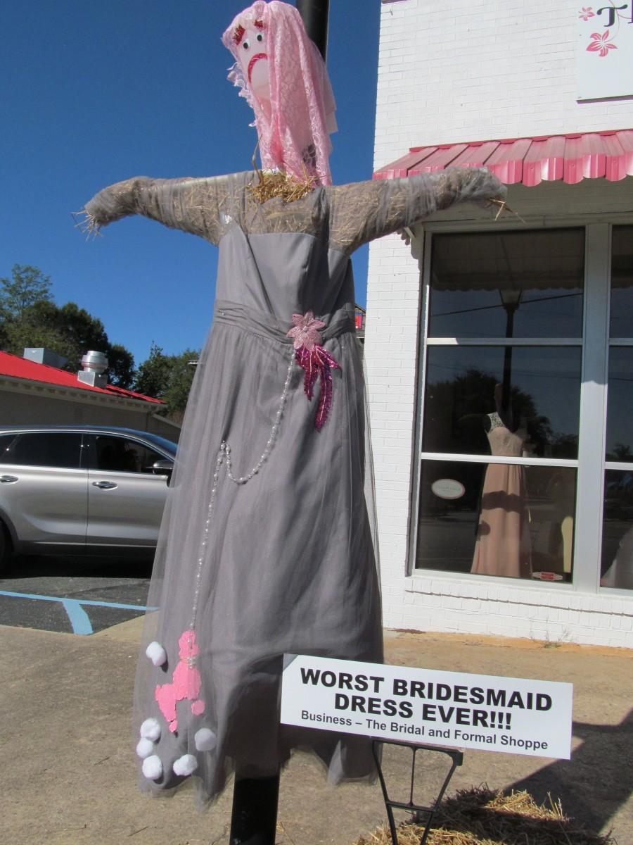 Worst Bridesmaid Dress Ever