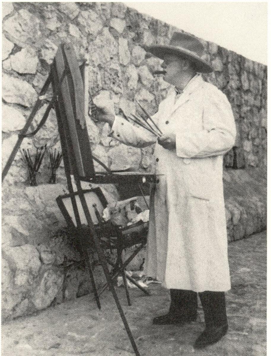 Churchill painting.