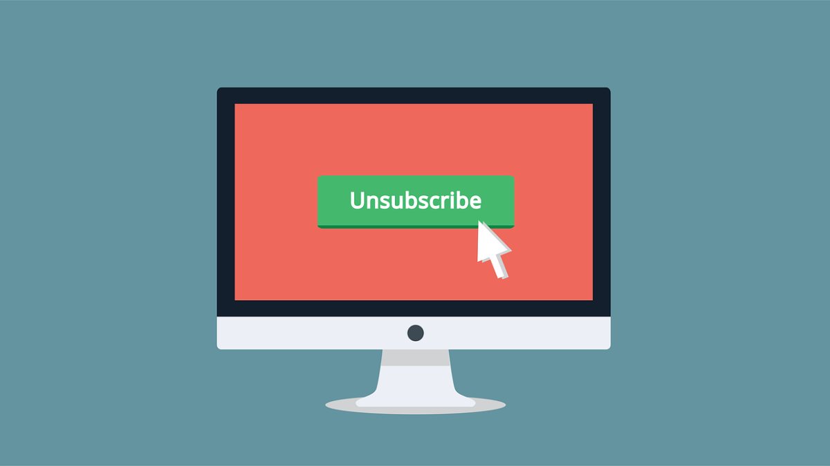 The dreaded unsubscribe button