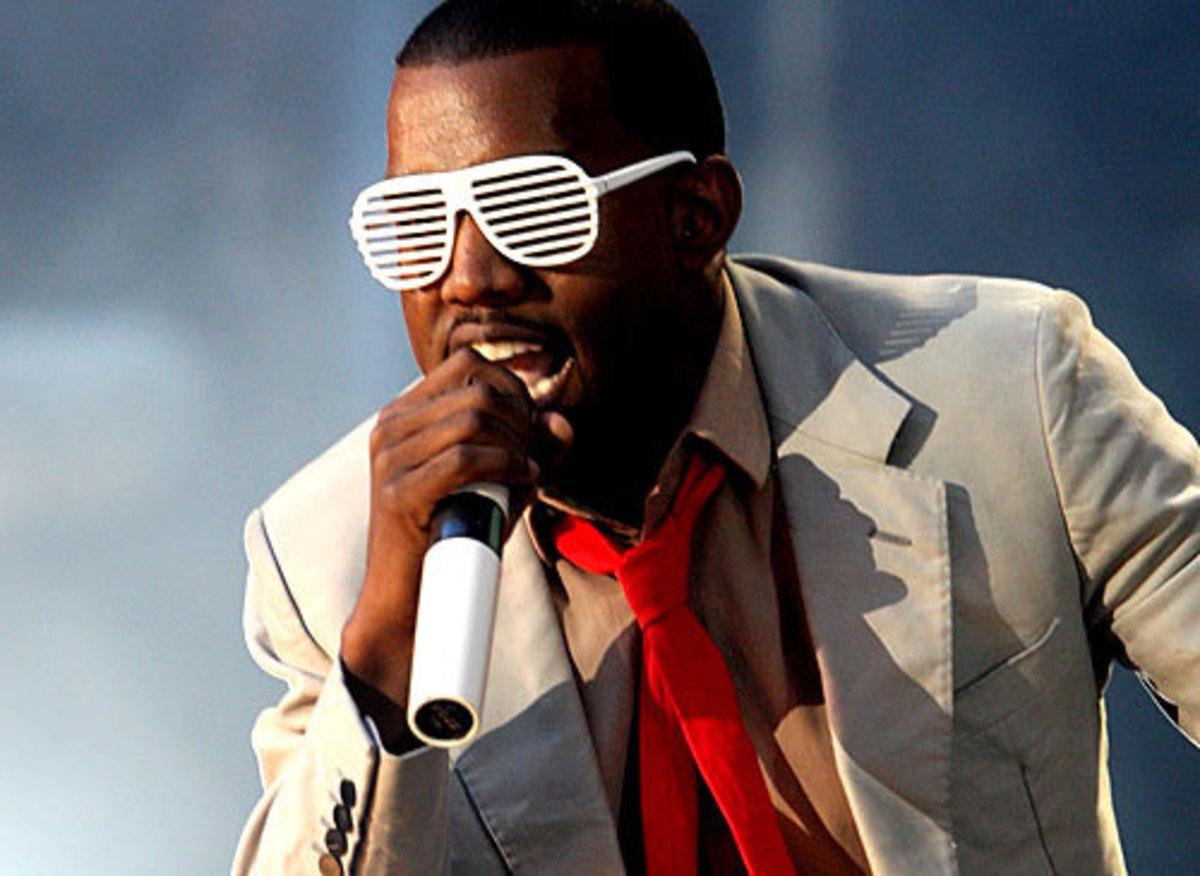 Hip-hop artist Kanye West