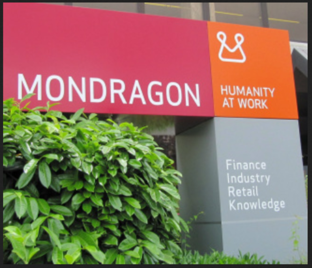 Mondragon teaches its students how to run a co-operative - an incredibly successful one!