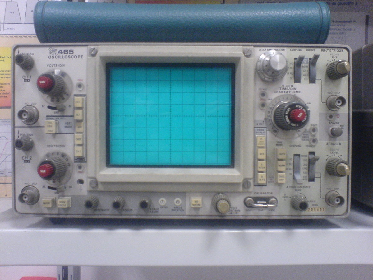 Cathode ray oscilloscope (CRO) applications and uses.