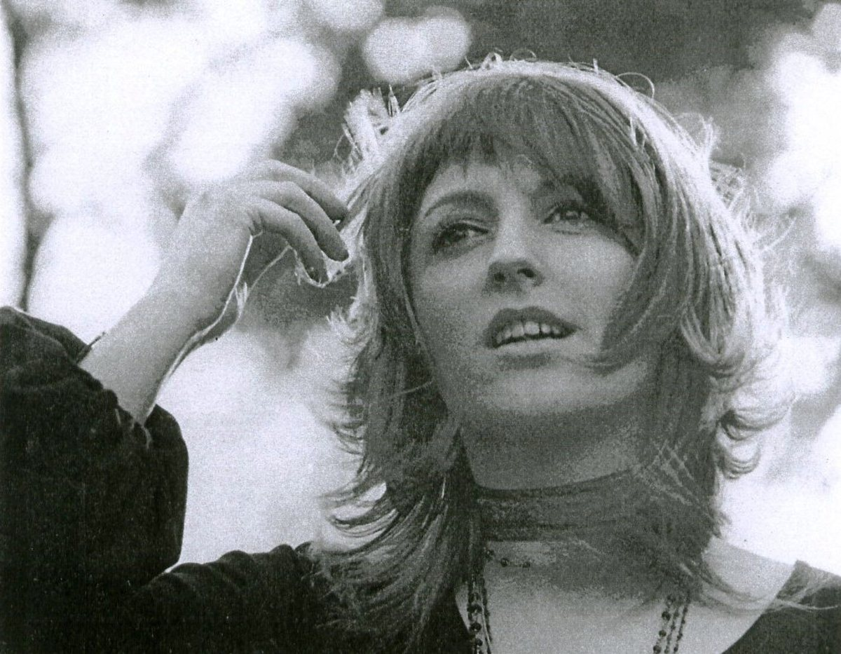 Clare Torry, one of the only two non members of Pink Floyd to have been credited as lead voice on a Pink Floyd track.