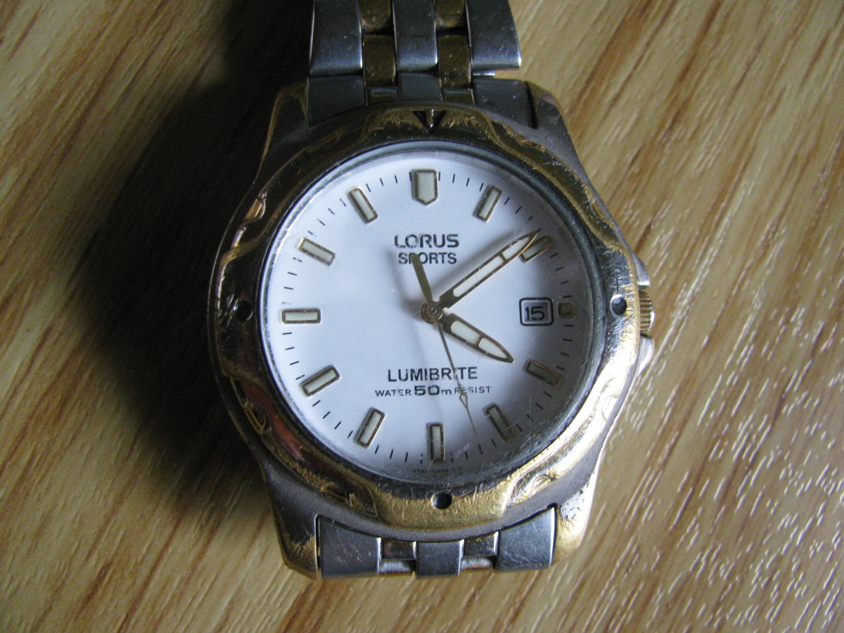 A Wrist Clock!