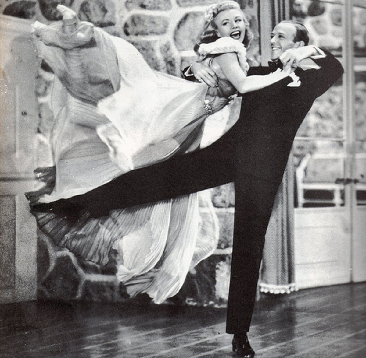 Think you're as graceful as Ginger Rogers?  A few weeks carrying mail should disabuse you of that notion.