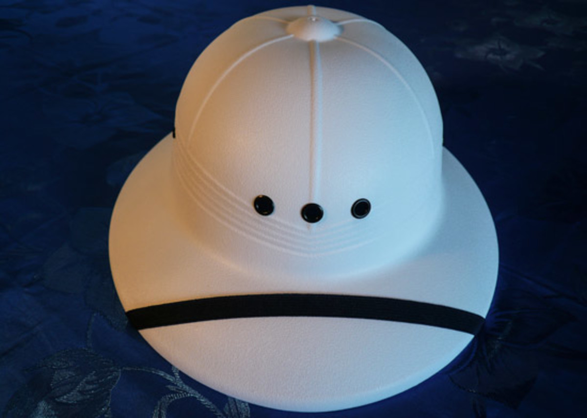 Pick the Pith Helmet - Save your Skull