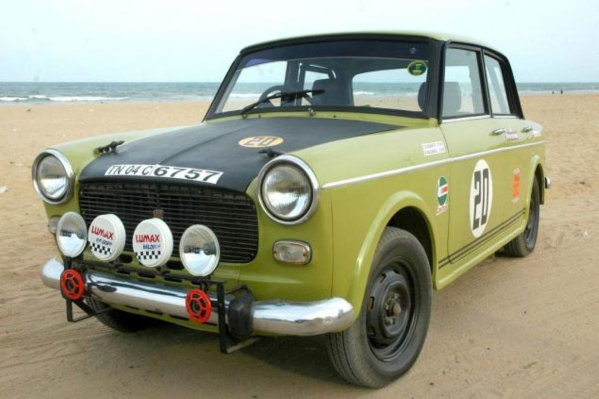 The Premier Padmani derived from Fiat 1100D
