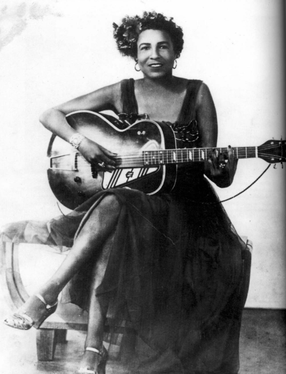 Memphis Minnie, Guitar Queen, Hoodoo Lady and Songster