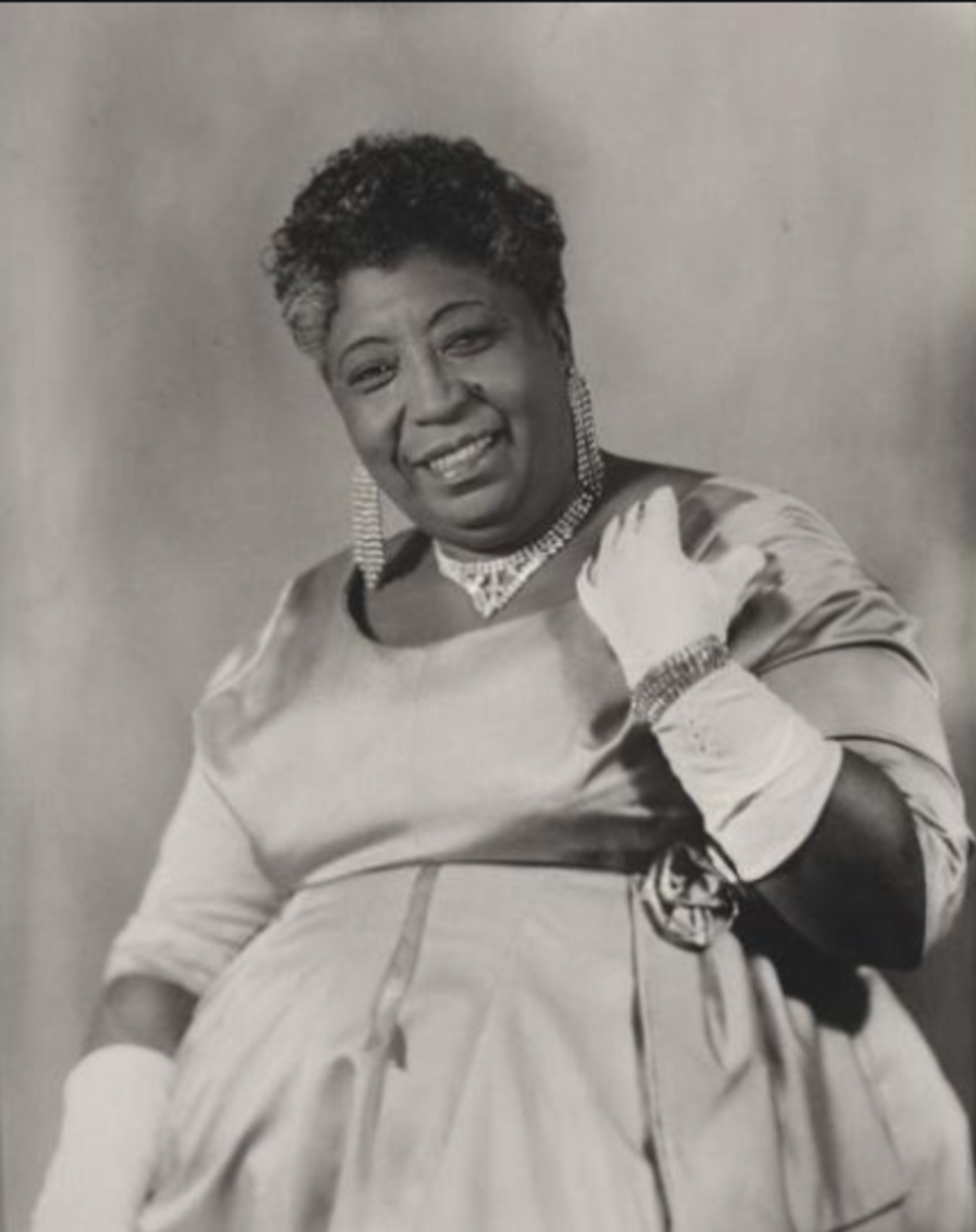 "Lillie Mae Glover (Big Memphis Ma Rainey / Ma Rainey II), ""The Mother of Beale Street"" and sought after Hoodooist."