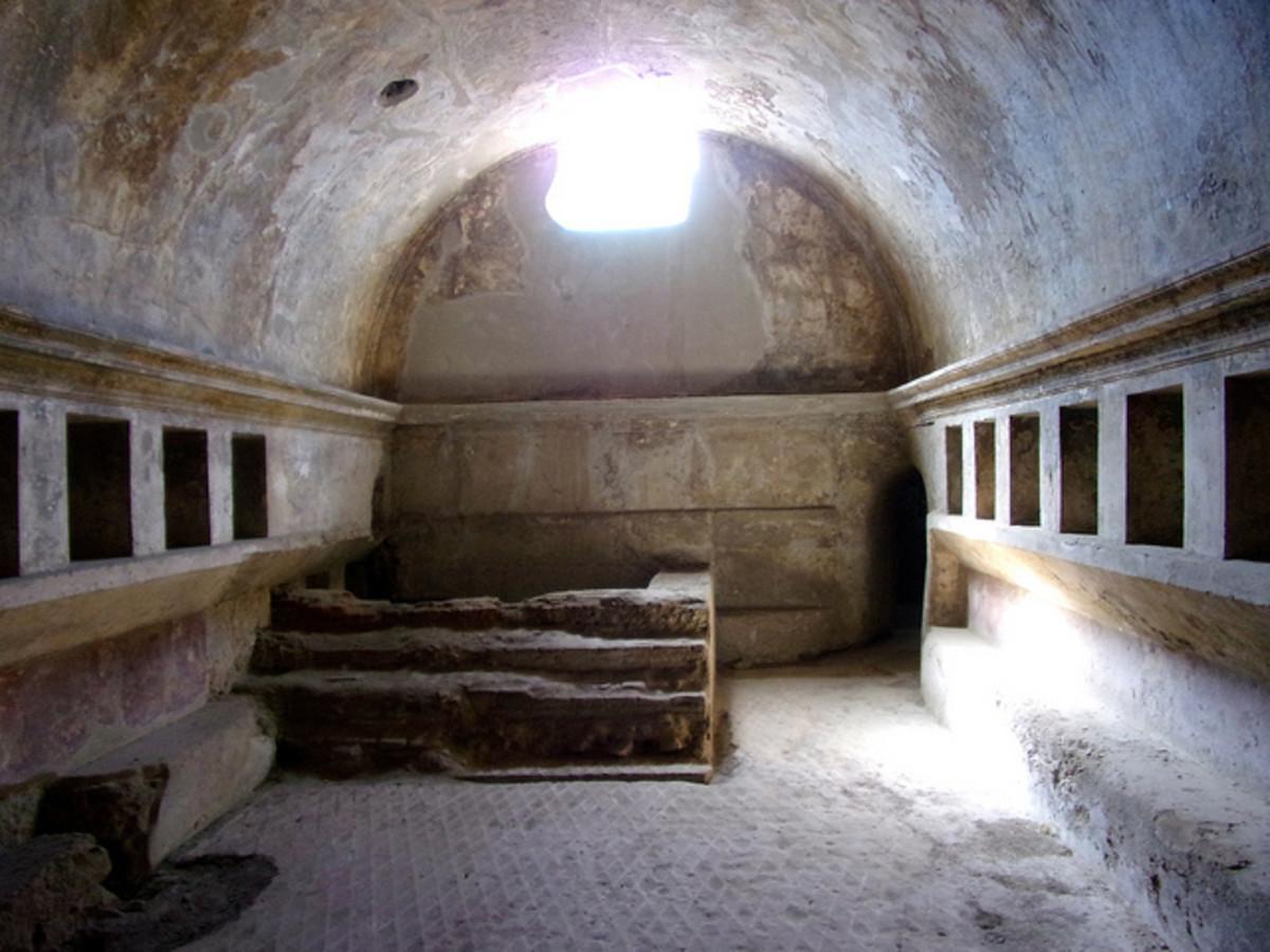Baths in Pompeii