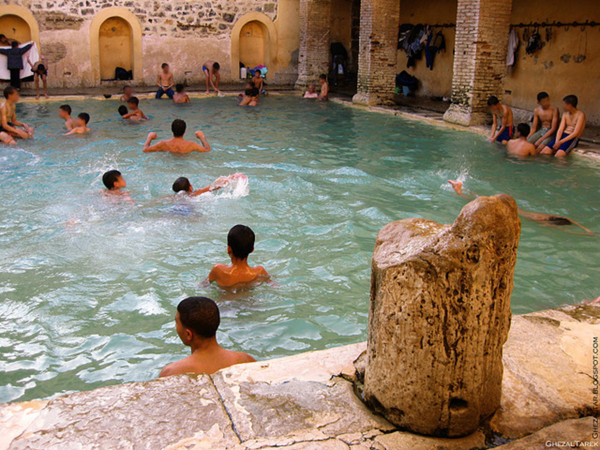 Baths in Khenchela
