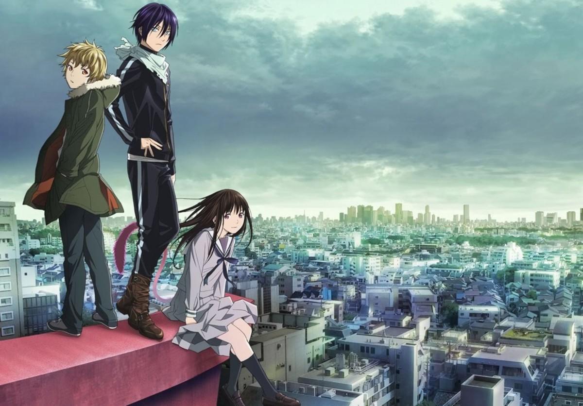 Yukine, Yato and Hiyori.