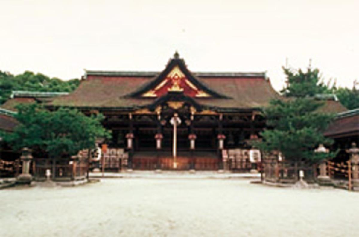 Kitano Tenmangū, shrine dedicated to Tenjin, was built in 947.