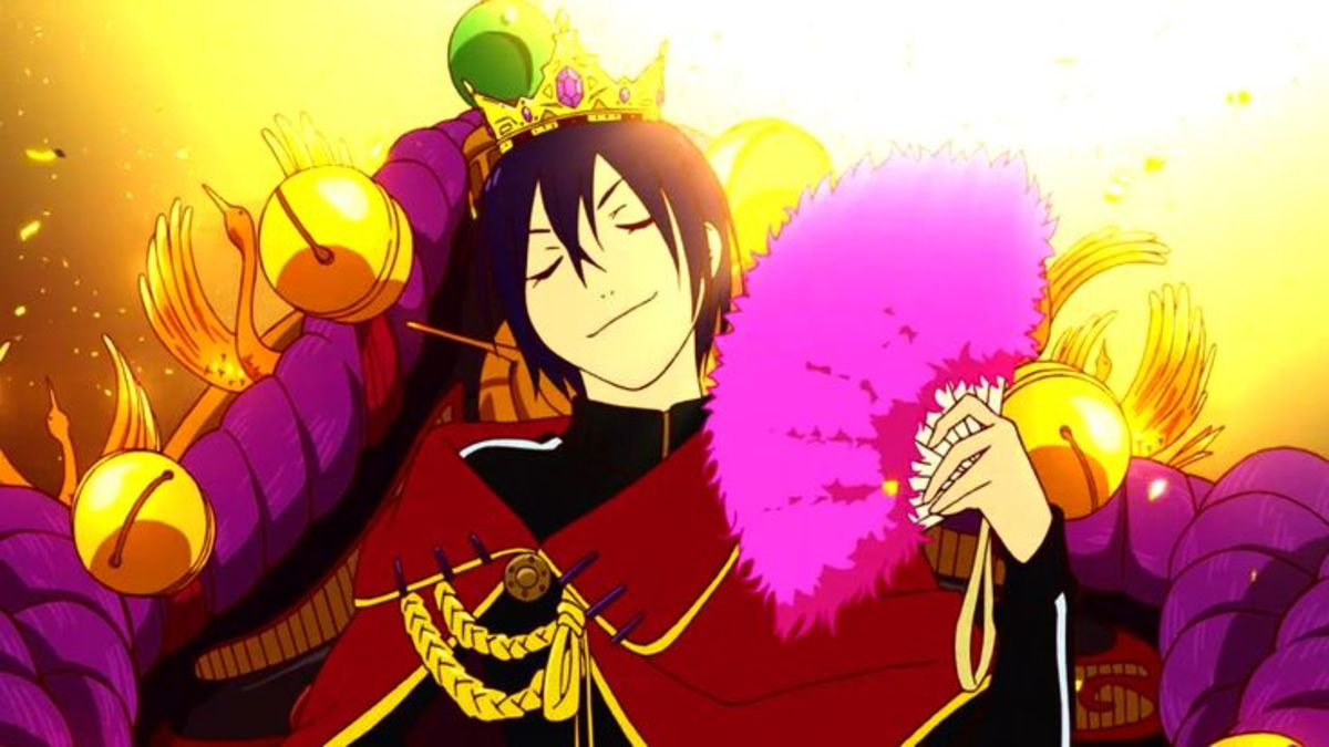 Yato dreams about being worshiped.