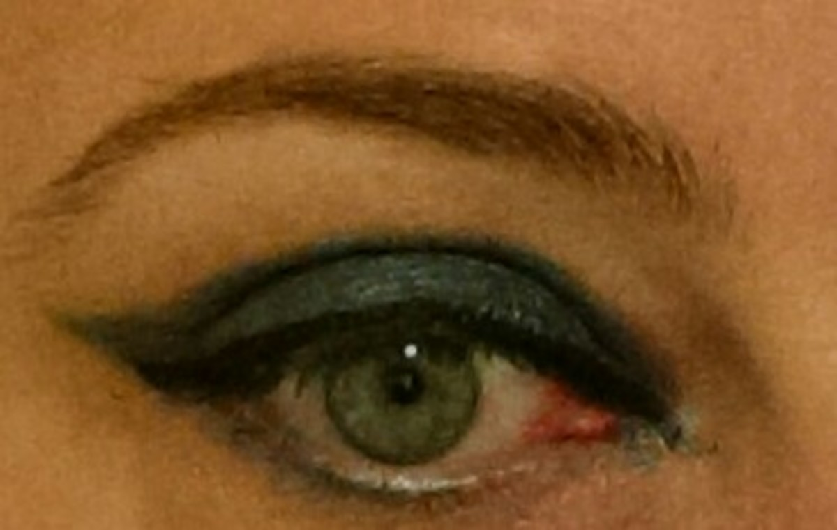Foiling any eyeshadow will bump up its drama factor.
