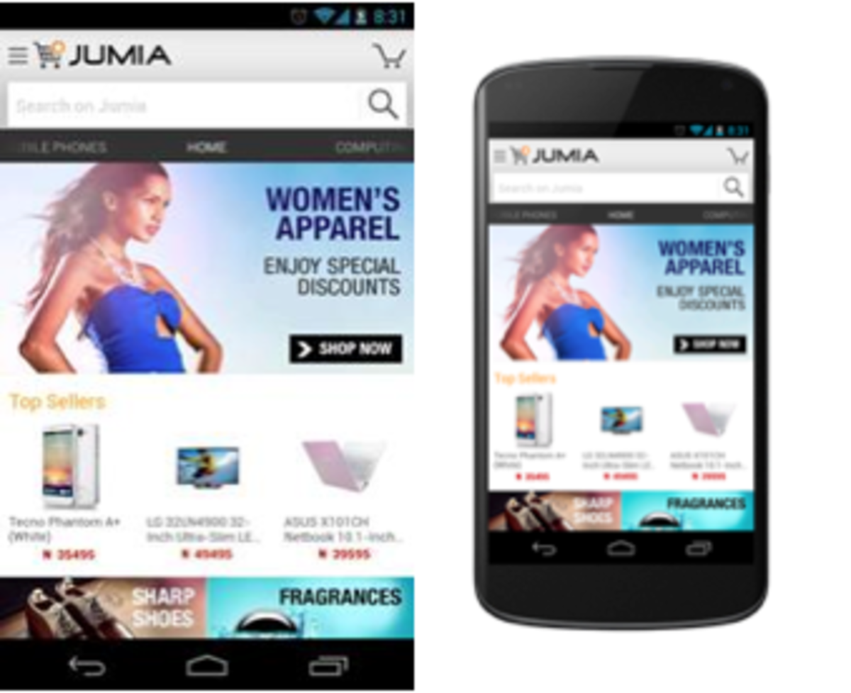 some products on jumia app