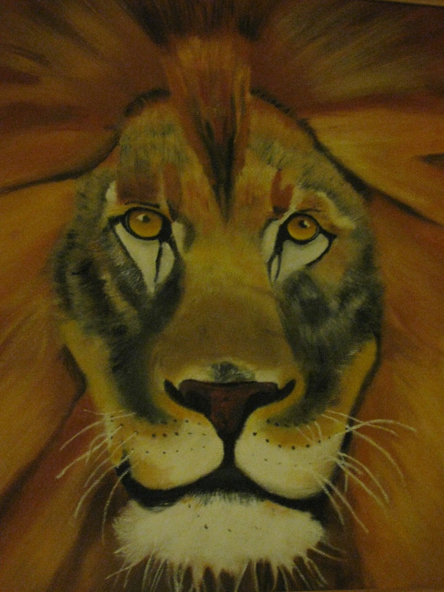 The Power of a Stare! painting by 'Viv'