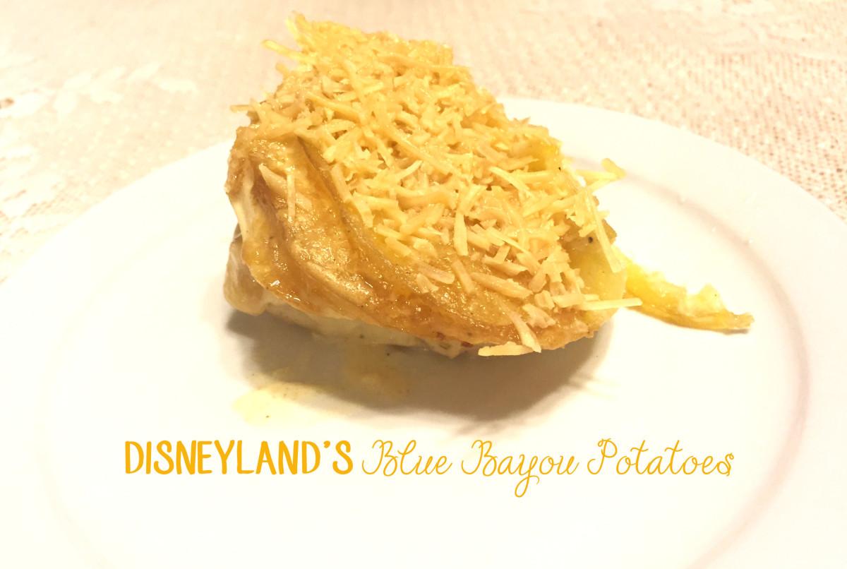 Disneyland's Blue Bayou Potatoes