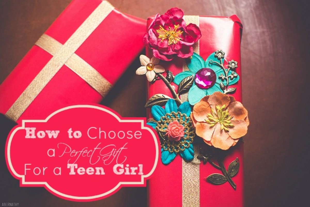 The most important thing when choosing a gift for a teenage girl is to make sure that you choose something that's as unique as she is!