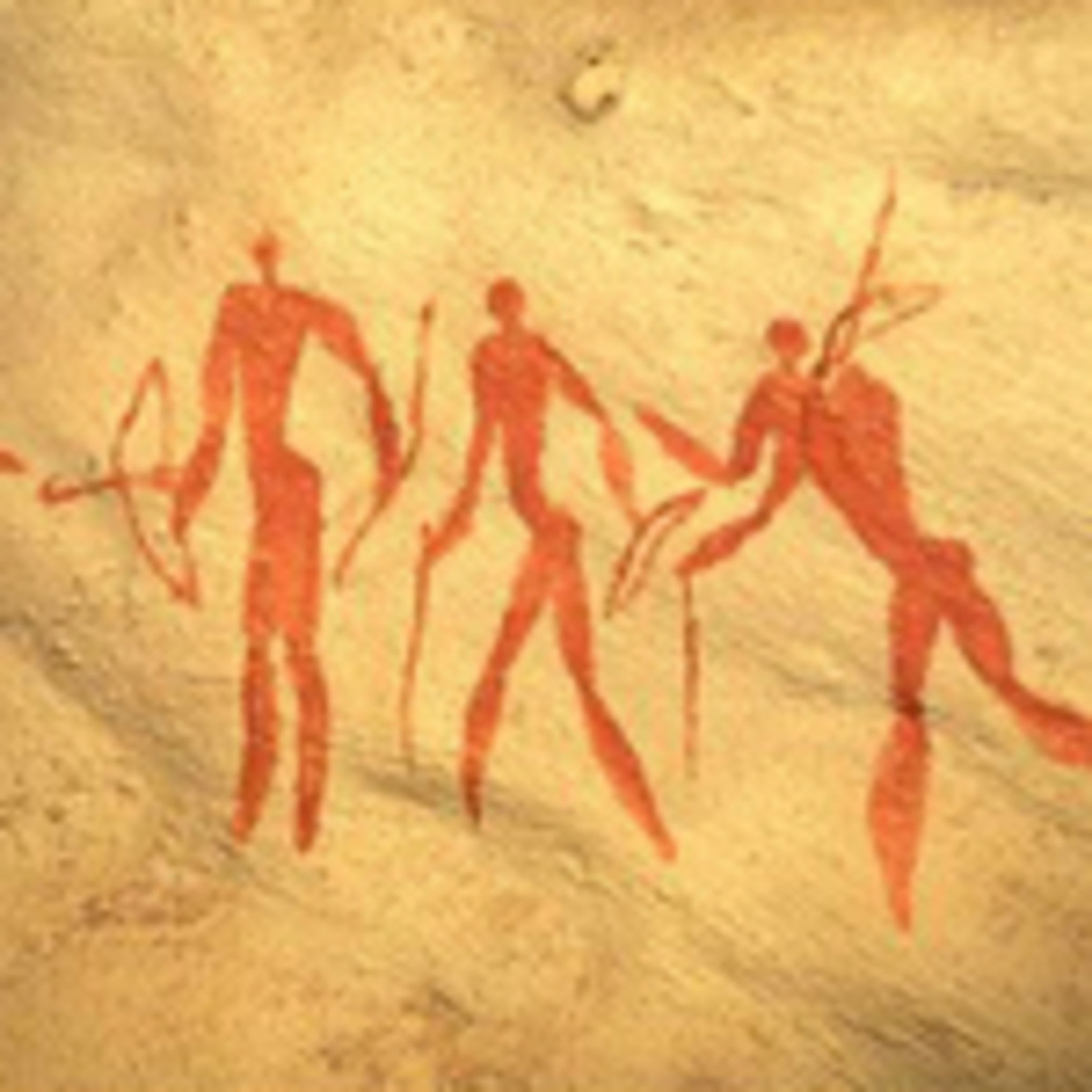 Many rock art was discovered against the walls of cages throughout the country