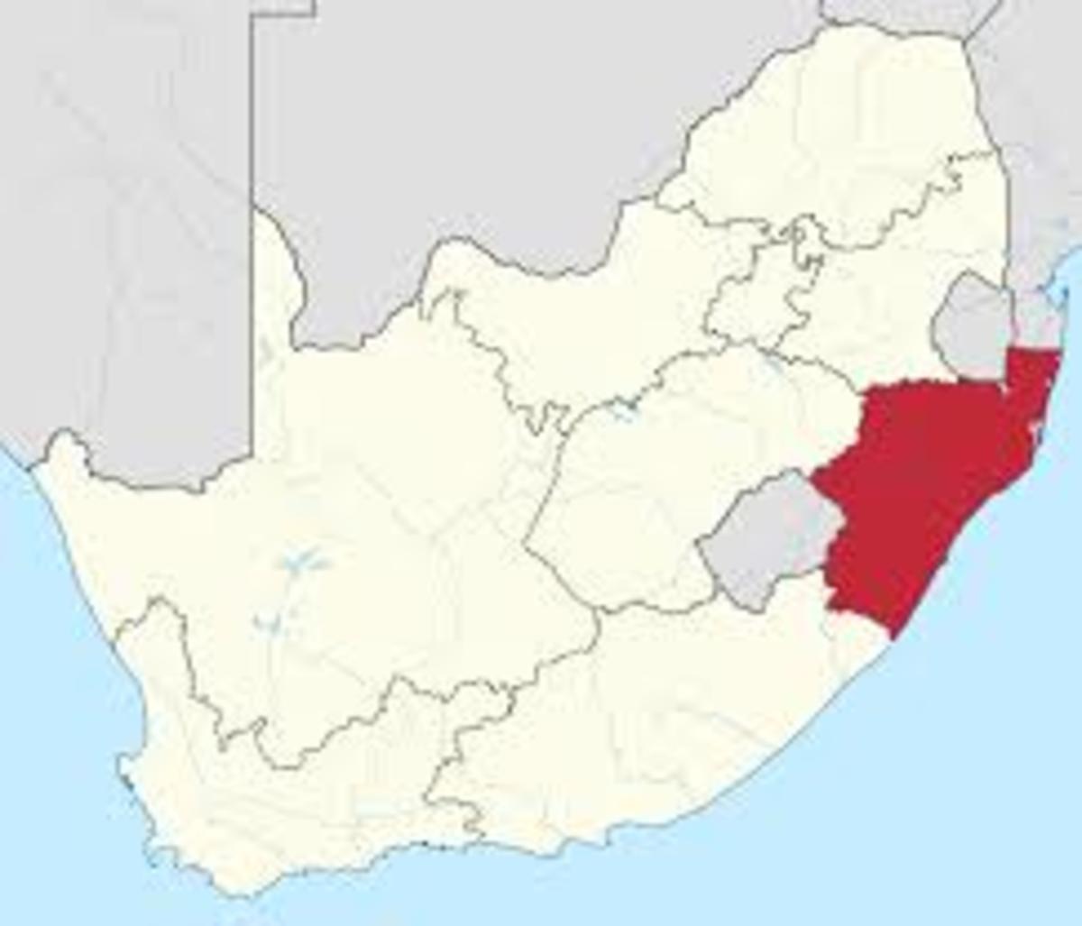 Zulu territory
