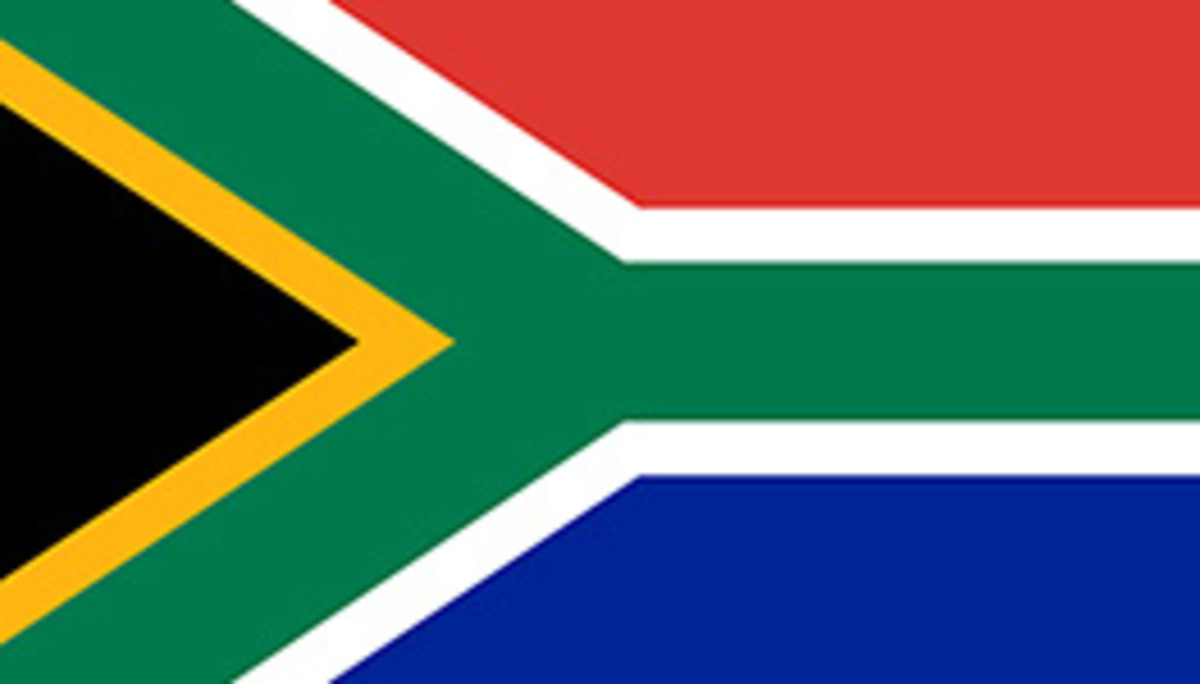 South African Flag since 1994