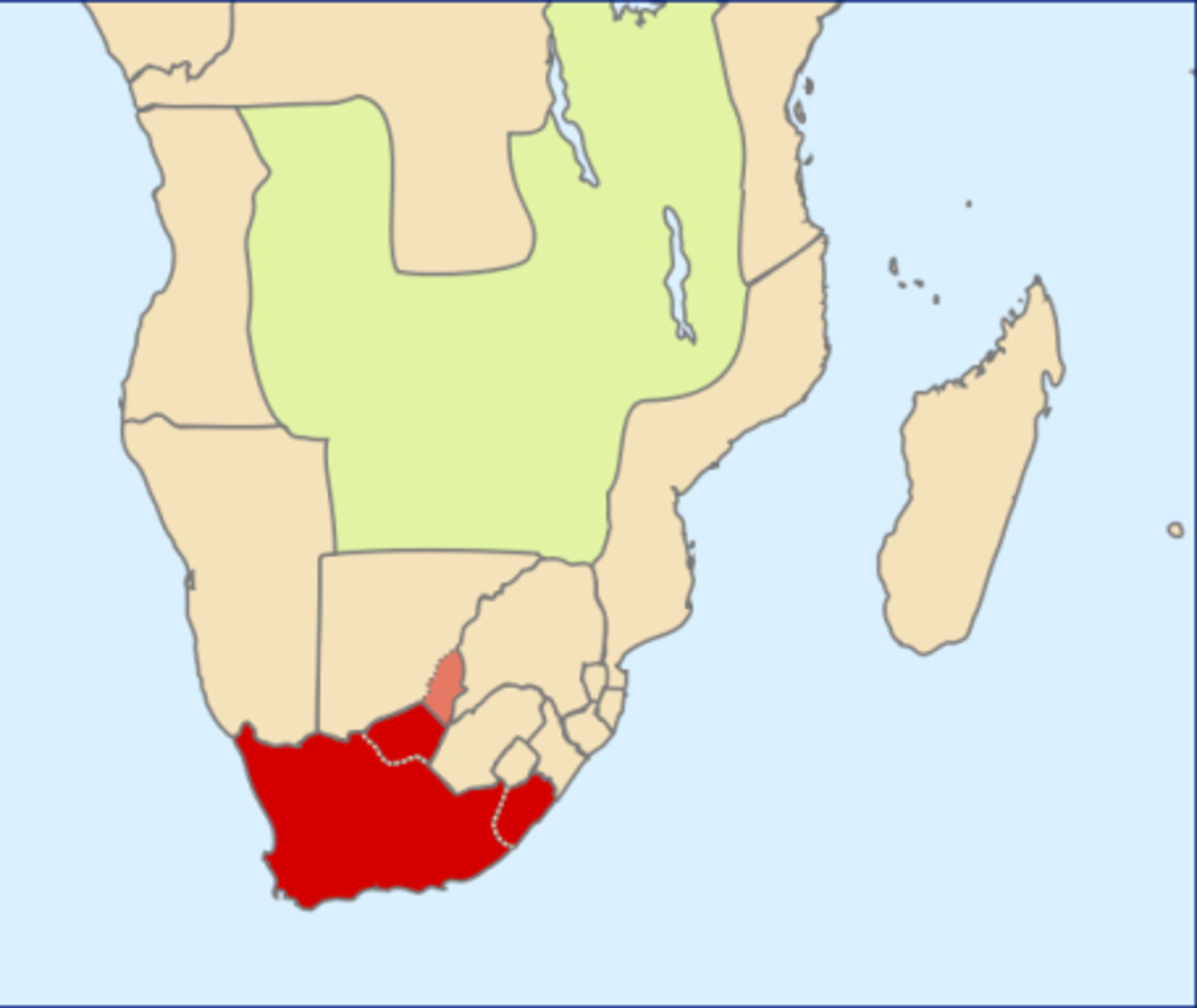 The Cape Colony by 1890