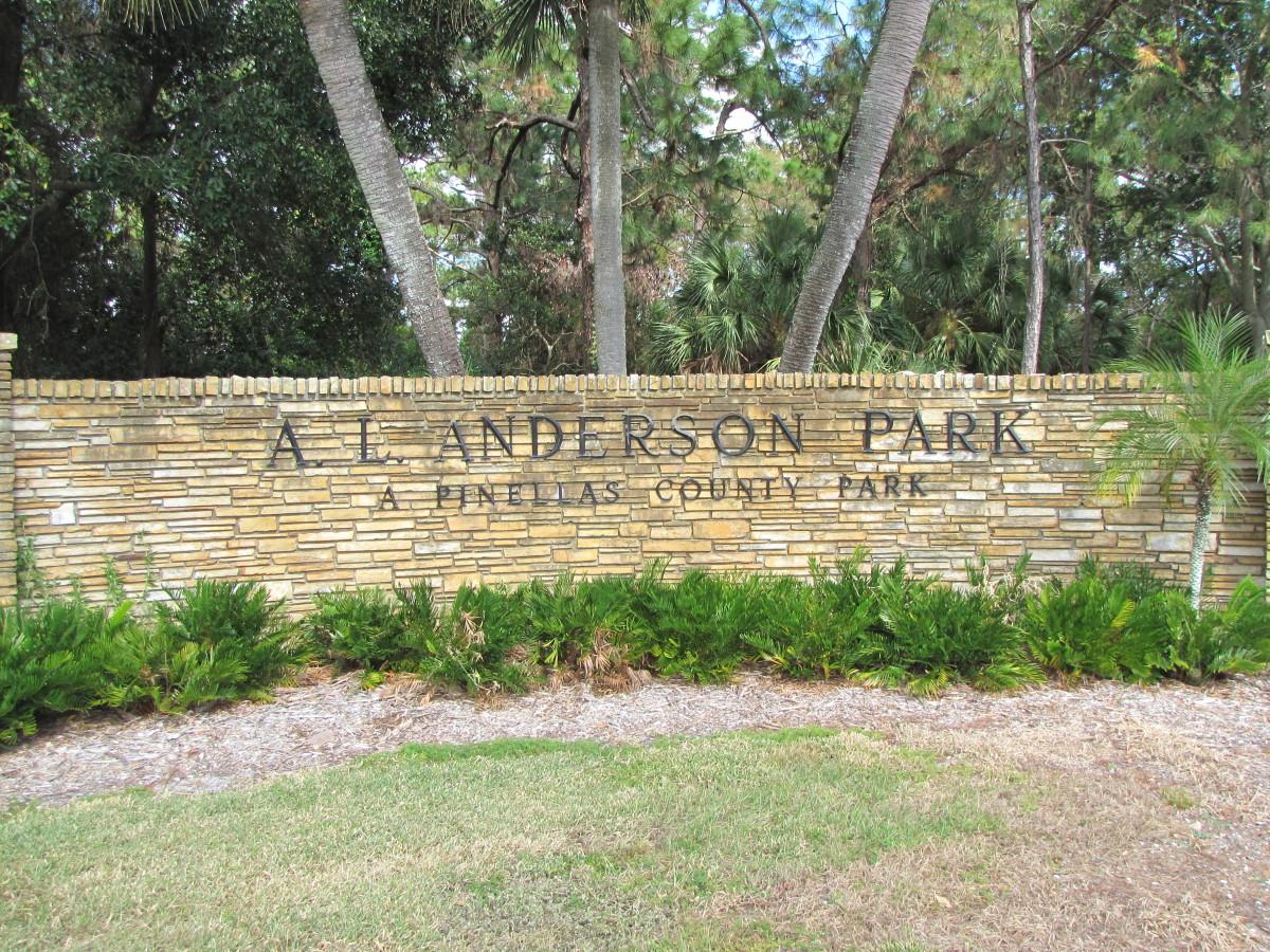 Visiting A.L. Anderson Park:  Tarpon Springs, Florida
