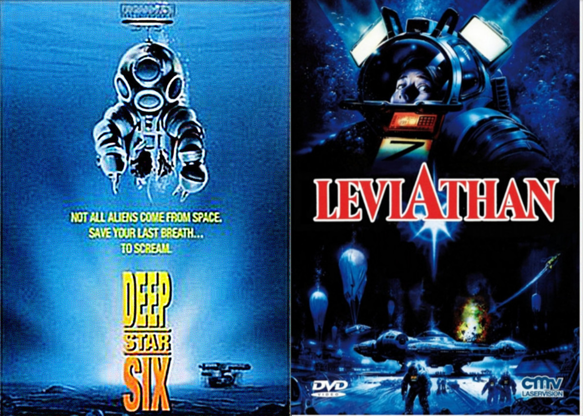 DeepStar Six  Vs  Leviathan   (1989)