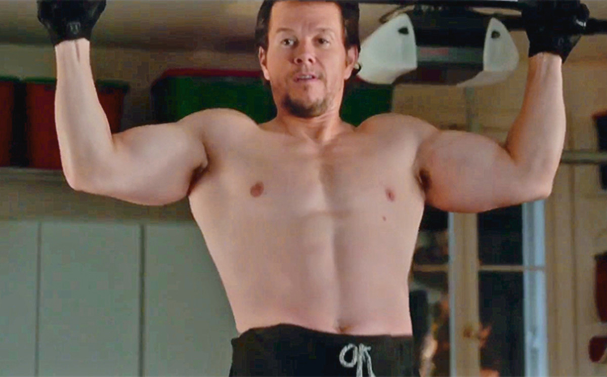 If you were Will Ferrell, then would you feel physically intimidated by this man?