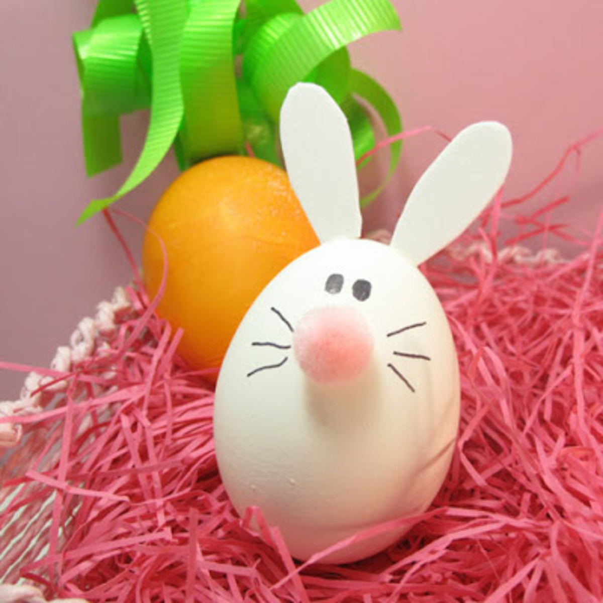 Here's the Bunny egg that goes along with the Lamb egg above.  Isn't it cute.