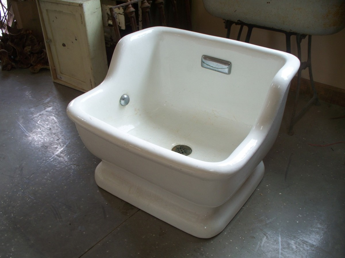 Vintage sitz bath