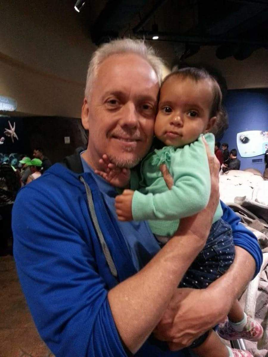 2014 - Randy and our granddaughter, Lily