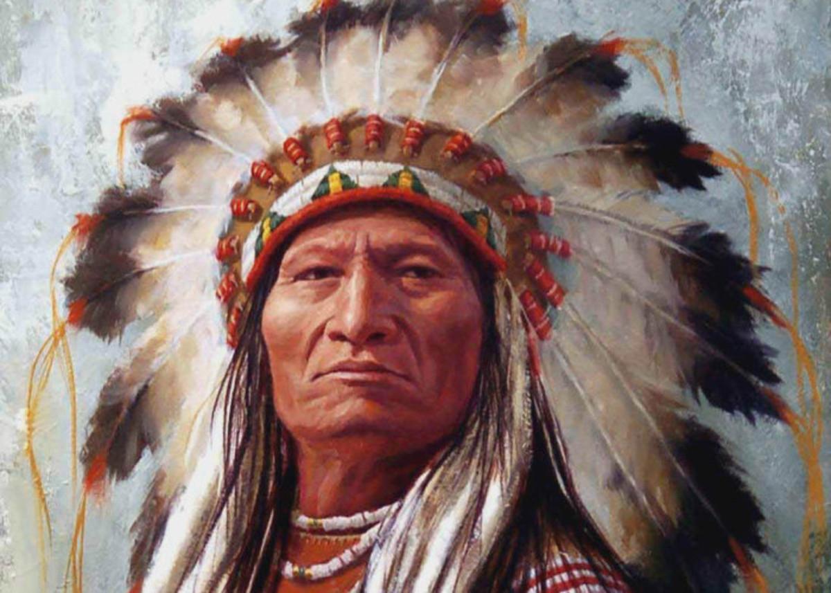 Native American/India headdress