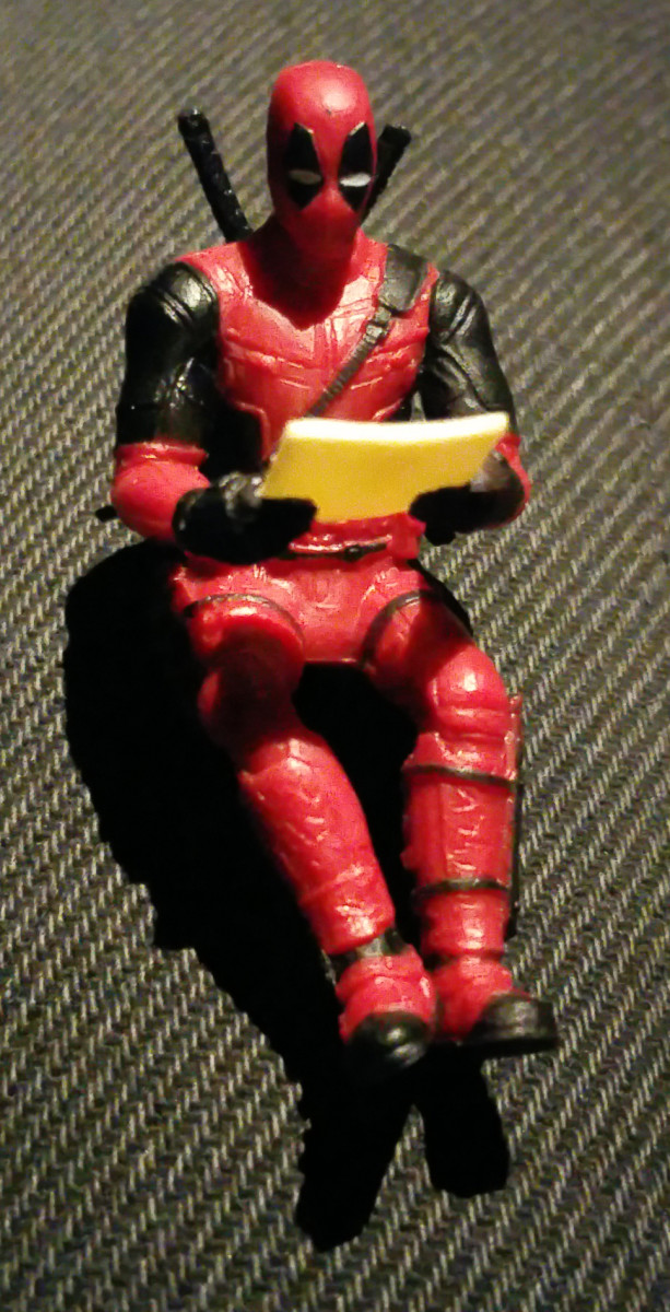 This mini Deadpool could be yours!