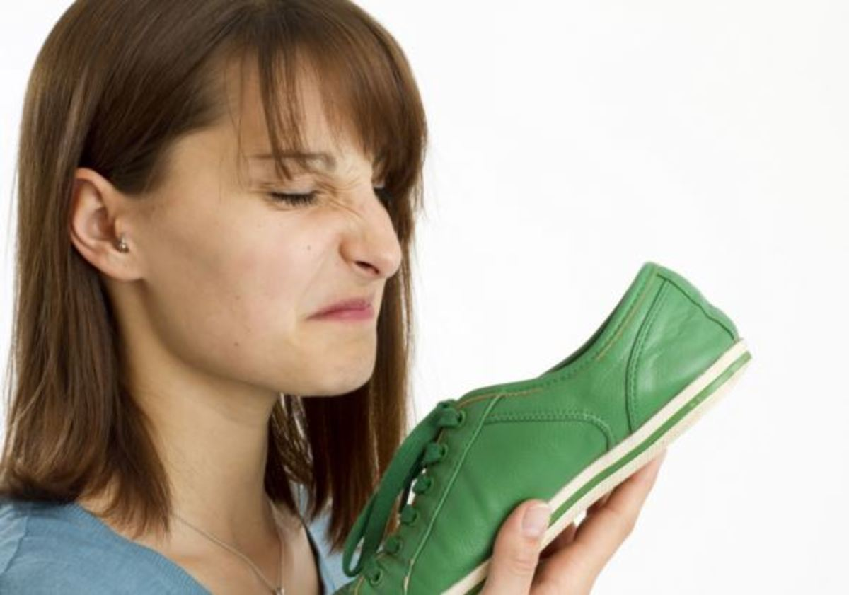 There are so many ways to get rid of shoe odor.