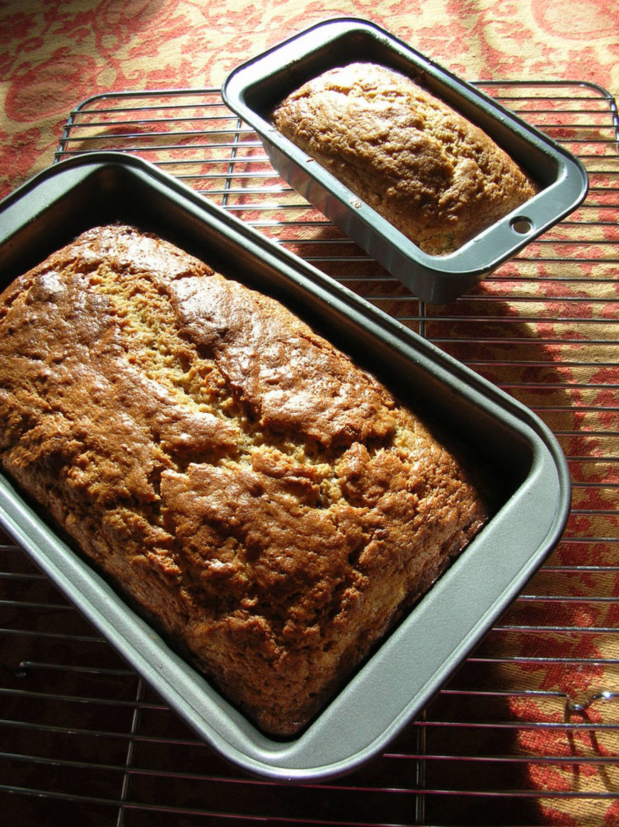 Make Banana Bread from Brown Overripe Bananas